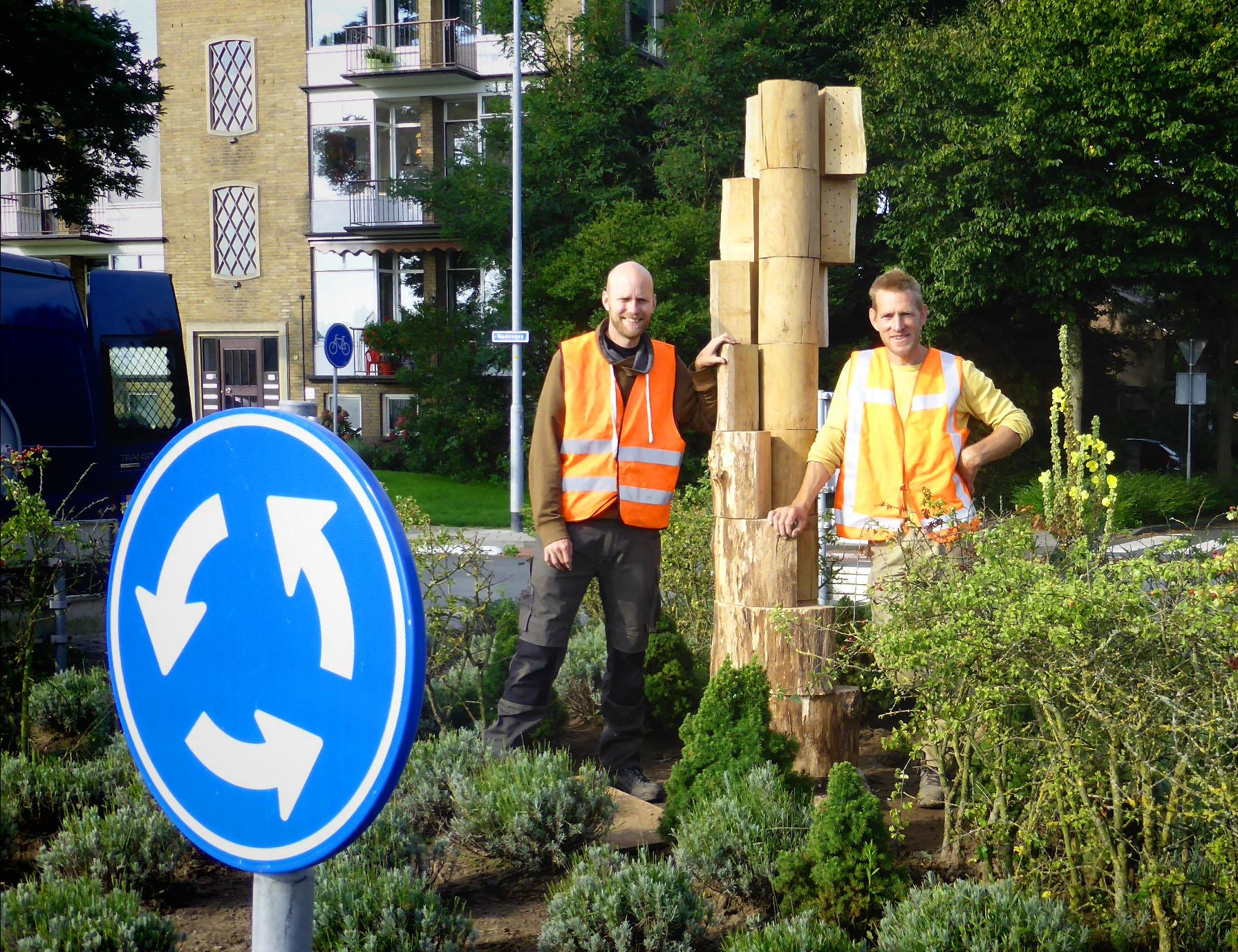 Zie ook de Bienenbaum, de wederhelft van dit bijenhotel in Wageningen's Partnerstad Mörfelden-Walldorf